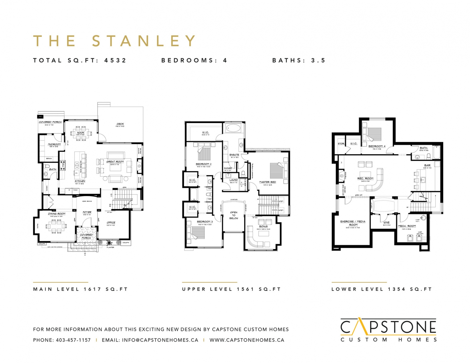 The Stanley - Feature Sheet