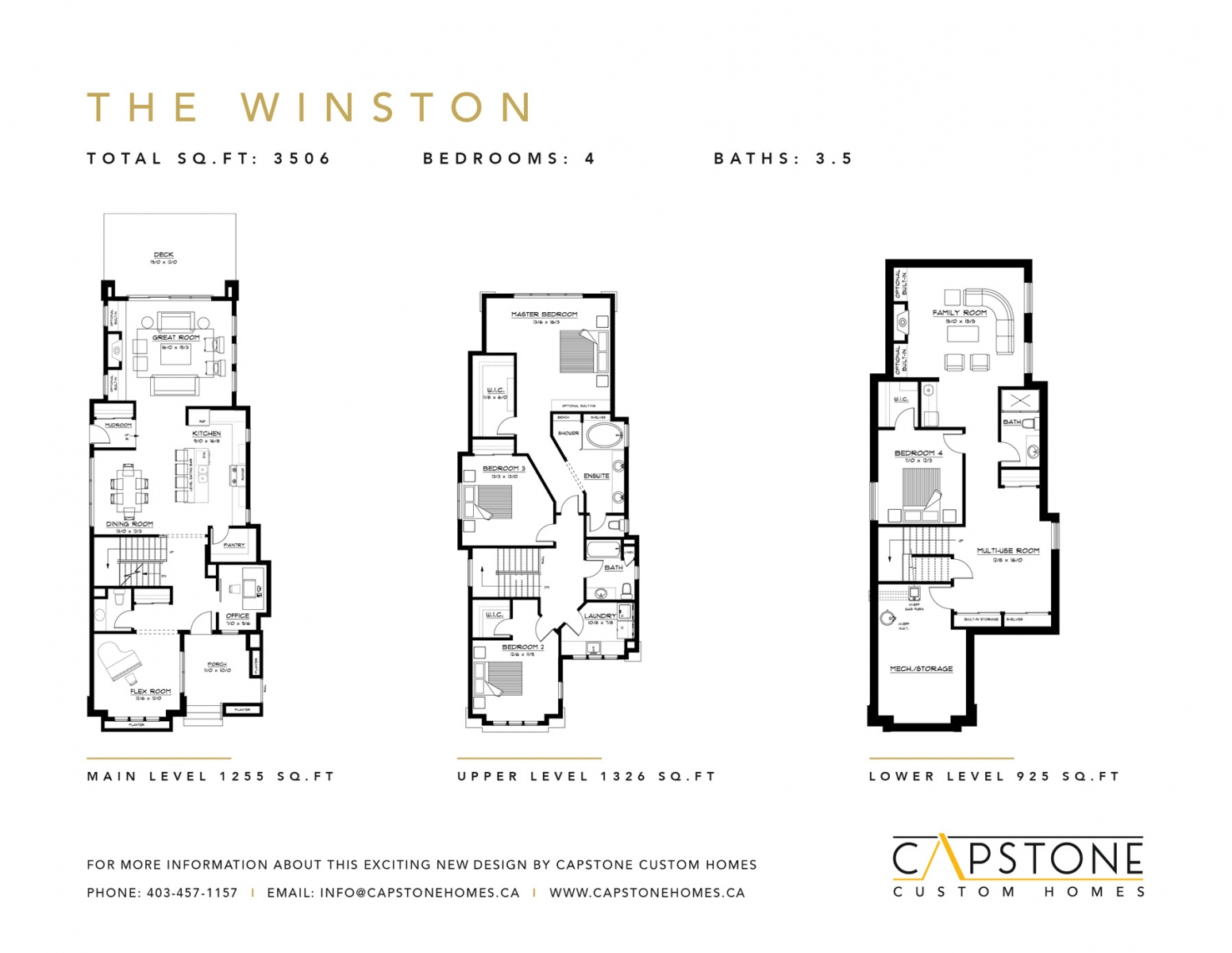 The Winston - Feature Sheet